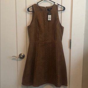 NWT Mossimo Suade Laser-Cut Dress